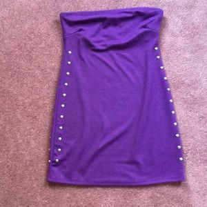 GUESS studded mini dress